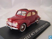 Model cars - Altaya - Renault 4CV Decouvrable