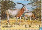 Postzegels - Ierland - Bedreigde dieren