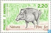 Postage Stamps - Andorra - French - Nature protection