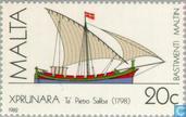Postzegels - Malta - Malterser schepen