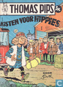 Bandes dessinées - Thomas Pips - Kisten voor hippies