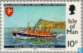 Postage Stamps - Man - Lifeboats 1824-1974