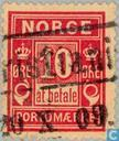 Postzegels - Noorwegen - Port 'At betale'
