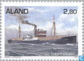 Timbres-poste - Åland [ALA] - Bateaux à vapeur