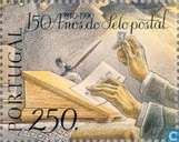 Postzegels - Portugal [PRT] - 150 jaar postzegeljubileum