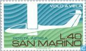 Briefmarken - San Marino - Segelfliegen
