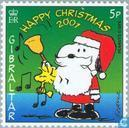 Postage Stamps - Gibraltar - Peanuts Comic Strip