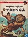 Comics - Tunga - De grote strijd van Toenga