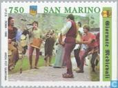 Timbres-poste - Saint-Marin - Moyen Age