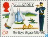 Postzegels - Guernsey - Boy's Brigade 1883-1983