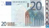 Zone Euro 20 Euro Z-T-Du