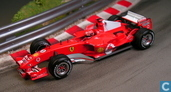 Modelauto's  - Mattel Hotwheels - Ferrari F2005