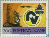 Postage Stamps - Vatican City - Vatican Radio