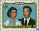 Postage Stamps - Luxembourg - Marriage Henry