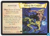 Trading cards - Harry Potter 4) Adventures at Hogwarts - Riding the Centaur