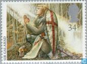 Postage Stamps - Great Britain [GBR] - Arthurian Legends