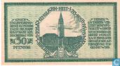 Bankbiljetten - Kiel - Stadt - Kiel 50 Pfennig