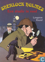 Bandes dessinées - Sherlock Holmes - Een studie in rood