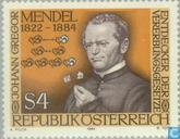 Postzegels - Oostenrijk [AUT] -  Gregor Johann Mendel,100e sterfjaar