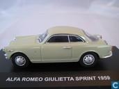 Voitures miniatures - Edison Giocattoli (EG) - Alfa Romeo Giulietta Sprint