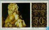 Postage Stamps - Vatican City - Sculptures