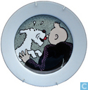 Céramique - Tintin - Bordje - Serie 1/6 : Bobbie