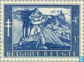 Postage Stamps - Belgium [BEL] - Painting Anto Carte
