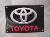 Enamel signs - Logo : Toyota - Emaille Bord : Toyota