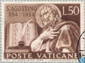 Timbres-poste - Vatican - Augustin
