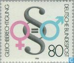 Postage Stamps - Germany, Federal Republic [DEU] - Emancipation