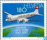 First trans-Atlantic flight 50 years