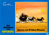 Bandes dessinées - Spirou et Fantasio - Spirou im Wilden Westen