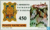 Postage Stamps - Vatican City - Benedict of Nursia