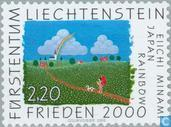 Briefmarken - Liechtenstein - Friedens 2000