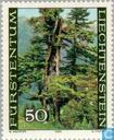 Postage Stamps - Liechtenstein - Forest