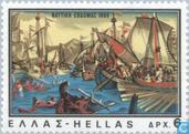 Postage Stamps - Greece - Greece and the sea