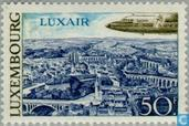 Timbres-poste - Luxembourg - Luxair & Vue de Luxembourg