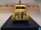 """Model cars - Atlas - De verongelukte auto uit """"De Krab met de Gulden Scharen"""""""