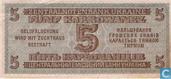 Billets de banque - Zentralnotenbank Ukraine - Karbowanez Ukraine 5