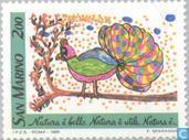 Postage Stamps - San Marino - Drawings