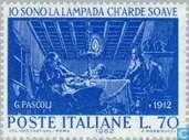 Postzegels - Italië [ITA] - Giovanni Pascoli