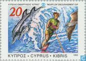 Postage Stamps - Cyprus [CYP] - Water Skiing