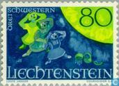 Postzegels - Liechtenstein - Sagen