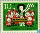 Postzegels - Duitsland, Bondsrepubliek [DEU] - Sprookjes Grimm