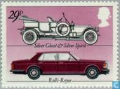 Postage Stamps - Great Britain [GBR] - British car industry