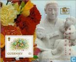 Postzegels - Guernsey - Postzegeltentoonstelling Philakorea