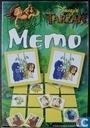 Board games - Memo (memory) - Tarzan Memo