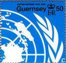 Postage Stamps - Guernsey - UNO 1945-1995