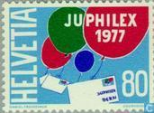 Postage Stamps - Switzerland [CHE] - JUPHILEX '77 Stamp Exhibition