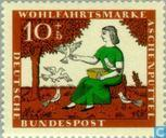 Postage Stamps - Germany, Federal Republic [DEU] - Grimm Fairy Tales